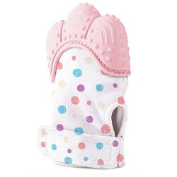 BabyJem - BabyJem Diş Kaşıyıcı Eldiven - Pembe