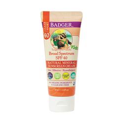 Badger - Badger Clear Zinc Çocuk Güneş Kremi SPF 40 87 ml