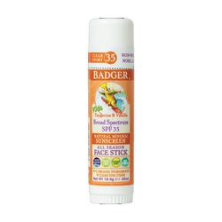 Badger - Badger Clear Zinc Çocuk Güneş Kremi Stick SPF 35 18.4 gr