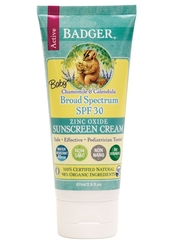Badger - Badger Baby Doğal İçerikli Güneş Kremi Spf 30 87 ml