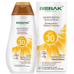 Bebak - Bebak SPF 30+ Nemlendirici Güneş Losyonu 200 ml