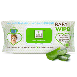 Bebe Nature - Bebe Nature With Vitamin E Islak Mendil 72 Adet