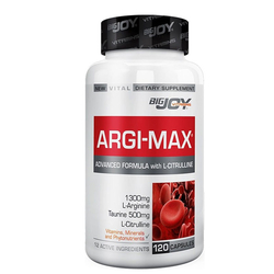 Bigjoy Vitamins - Bigjoy Argi-max L-Citrulline 120 Kapsül