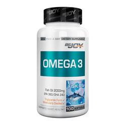 Bigjoy Vitamins - Bigjoy Omega 3 2000mg 100 Yumuşak Jel Kapsül