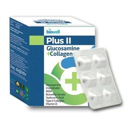 Biowell - Biowell Plus II Glucosamine + Collagen Takviye Edici Gıda 60 Kapsül