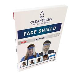 Cleantechs - Cleantechs Plus Kutulu Yüz Siperliği 2 Adet
