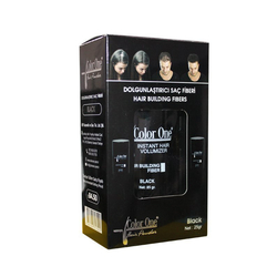 Color One - Color One Hair Building Fibers 25 gr - Siyah