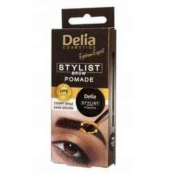 Delia Cosmetics - Delia Eyebrow Expert Stylist Pomade Dark Brown