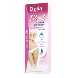 Delia Cosmetics - Delia Hair Removal Cream 12in1 Total Effect 100 ml