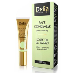 Delia Cosmetics - Delia Under Face Concealer 02 Yellow 10 ml