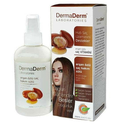 DermaDerm - DermaDerm Argan Özlü Saç Bakım Sütü 250 ml