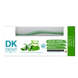 Dermokil - Dermokil Dk Dent Aloe Vera Diş Macunu 75 ml + Diş Fırça HEDİYE