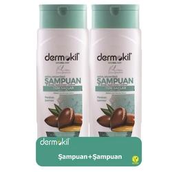 Dermokil - Dermokil Argan Yağlı Şampuan 400 ml   2li Paket