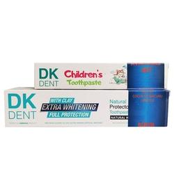 Dermokil - Dermokil Dk Dent Klasik Diş Macunu 100 gr   Çocuk Diş Macunu 50 ml HEDİYE