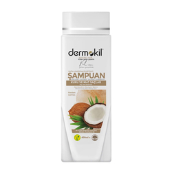 Dermokil - Dermokil Doğal Hindistan Cevizi Özlü Şampuan 400 ml