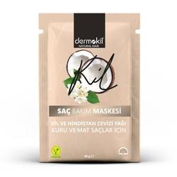 Dermokil - Dermokil Kil ve Hindistan Cevizi Yağlı Saç Maskesi 35 ml