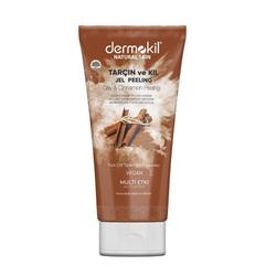 Dermokil - Dermokil Natural Skin Tarçın ve Kil Jel Peeling 200 ml