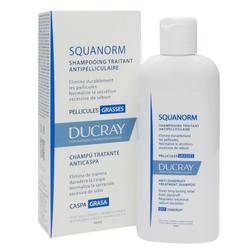 Ducray - Ducray Squanorm Şampuan OILY Dandruff 200 ml
