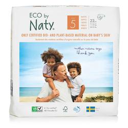 Eco by Naty - Eco by Naty Bebek Bezi Junior 22 Adet No-5