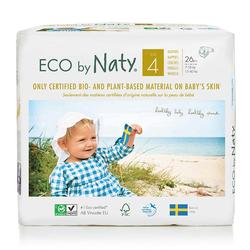 Eco by Naty - Eco by Naty Bebek Bezi Maxi 26 Adet No-4