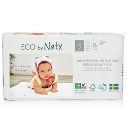Eco by Naty - Eco by Naty Bebek Bezi Mini 33 Adet No-2