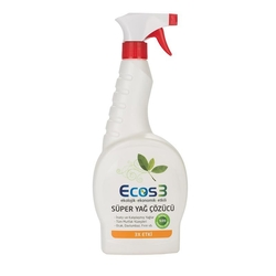Ecos3 - Ecos3 Ekolojik Süper Yağ Çözücü Sprey 750ml