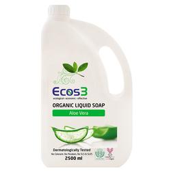 Ecos3 - Ecos3 Organik Sıvı Sabun Aloe Vera 2500 ml