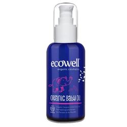 Ecowell - Ecowell Organik Bebek Yağı 100ml