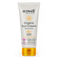 Ecowell - Ecowell Organik Güneş Kremi Spf 50 110 gr