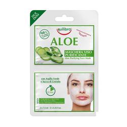 Equilibra - Equilibra Aloe Purifying Face Mask 2 x 7,5 ml
