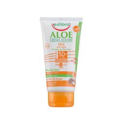 Equilibra - Equilibra Aloe Sun SPF 50 Anti Age Face Creme 75 ml