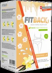 Fitback - Fitback Vanilya Aromalı Enerjisi Kısıtlanmış Gıda 30 Adet