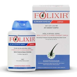 Folixir - Folixir Saç Dökülmesi ve Kepek Karşıtı Bakım Şampuanı 300 ml