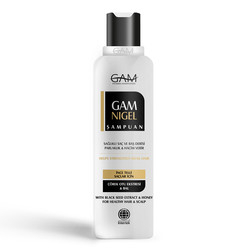 GAM - GAM Nigel İnce Telli Saçlar için Şampuan 275 ml