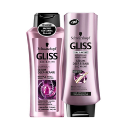 Gliss - Gliss Serum Deep Repair Set