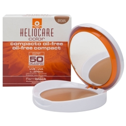 Heliocare - Heliocare Color SPF 50 Oil Free Compact 10 gr - Brown