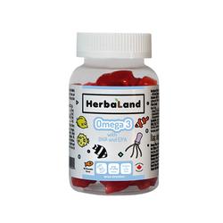 Herbaland - Herbaland Kids Omega 3 with DHA and EPA 60 Adet