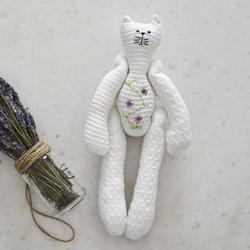 Homemade Aromaterapi - Homemade Aromaterapi Lavanta Oturan Kedicik Uyku Bebeği