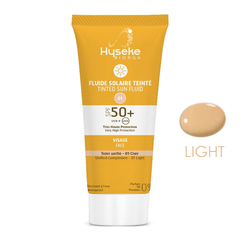 Biorga - Hyseke Biorga Tinted Sun Fluid SPF 50+ Face 40 ml - Light