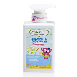 Jack And Jill Kids - Jack and Jill Natural Bathtime Shampoo & Body Wash 300ml - Sweetness