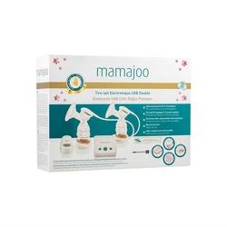 Mamajoo - Mamajoo Elektronik USB Çiftli Göğüs Pompası
