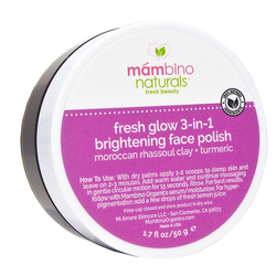 Mambino - Mambino Moroccan Clay Renewing Face Scrub 50gr