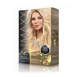 Maxx Deluxe - Maxx Deluxe Krem Saç Boyası 10.0 Açık Sarı