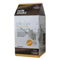 Milk Shake - Milk Shake Milk Color Kalıcı Saç Boyası 6 e - Koyu Kumral Egzotik