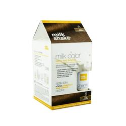 Milk Shake - Milk Shake Milk Color Kalıcı Saç Boyası 6 - Koyu Kumral Egzotik