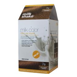 Milk Shake - Milk Shake Milk Color Kalıcı Saç Boyası 7 e - Orta Kumral Egzotik