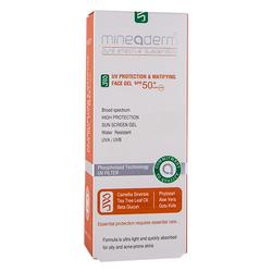 Mineaderm - Mineaderm Uv Protection & Matifying Face Gel SPF50+ 50 ml