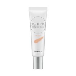 Missha - Missha Lighting Tone Up Base SPF30 PA++ (Peach) 20 ml