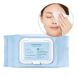 Missha - Missha Super Aqua Ultra Hyalon Cleansing Water 30 Wipes