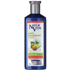 NATUR VITAL - Natur Vital Anti Dandruff Shampoo For Greasy Hair 300ml